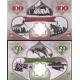 Aruba - sada bankovek 5, 10, 20, 50, 100 shillings 2018 UNC, soukromý tisk
