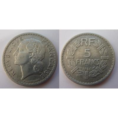 Francie - 5 franků 1946