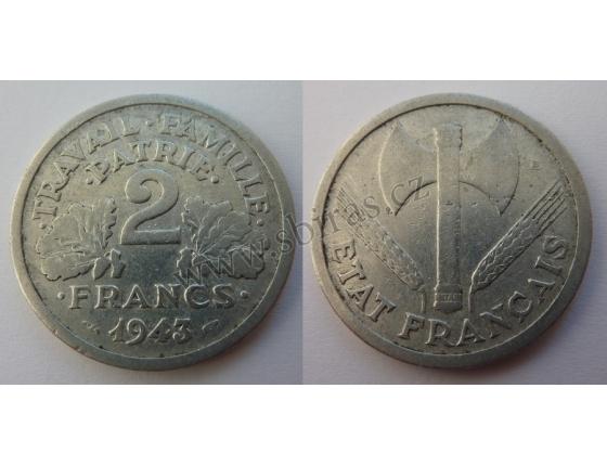 Francie - 2 Franky 1943 nacistická okupace Francie