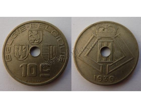 Belgie - 10 Centimes 1939