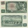 100 korun 1961 UNC kolkovaná