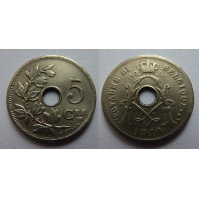 Belgie - 5 Centimes 1910