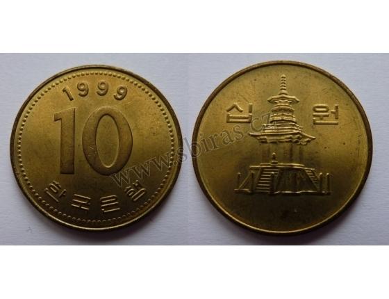 Jižní Korea - 10 Won 1999