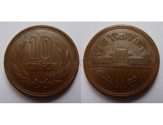 Japonsko - 10 Yen