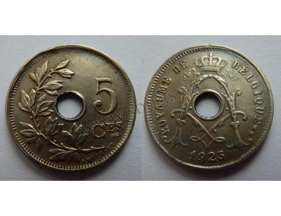 Belgie - 5 Centimes 1923
