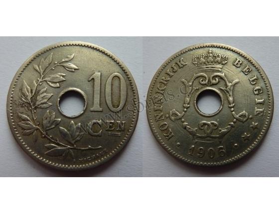 Belgie - 10 centimes 1906