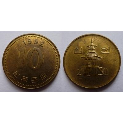 Jižní Korea - 10 Won 1992
