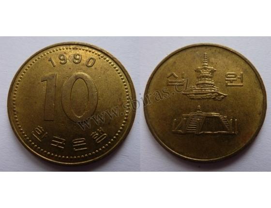 Jižní Korea - 10 Won 1990