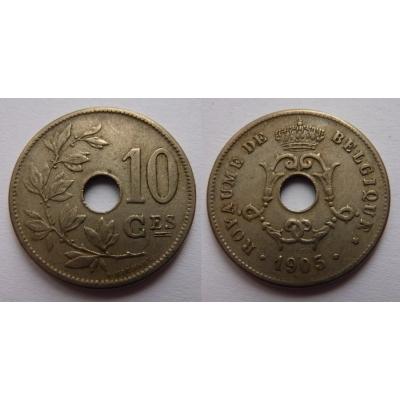 Belgie - 10 Centimes 1905