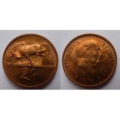 Jihoafrická republika - 2 Cents 1976
