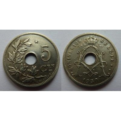 Belgie - 5 Centimes 1930