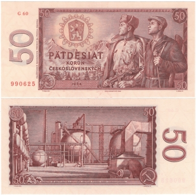 50 Korun 1964 UNC