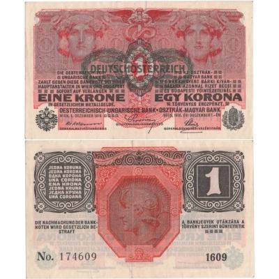 1 koruna 1916
