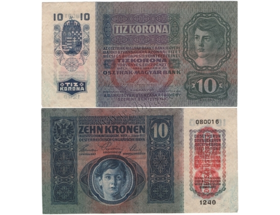 10 korun 1915