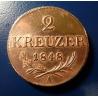 2 Kreuzer 1848