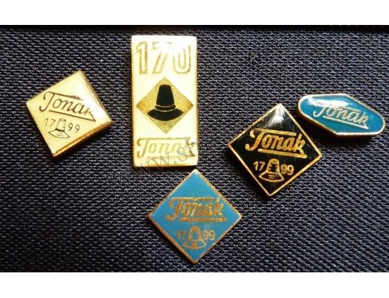 Tonak - sada odznaků