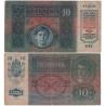 10 korun 1915, série 1153 bez přetisku