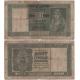 Srbsko - bankovka 10 dinara 1941, okupace nacistickým Německem