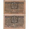 Československo/Polsko - Bílsko, bankovka 20 haléřů 1920