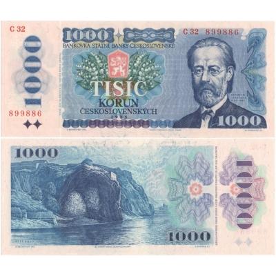 Czechoslovakia - CZK 1,000 banknote 1985