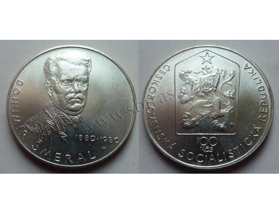 100 Korun 1980 - Bohumír Šmeral
