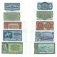Sada 5 bankovek 1953 UNC