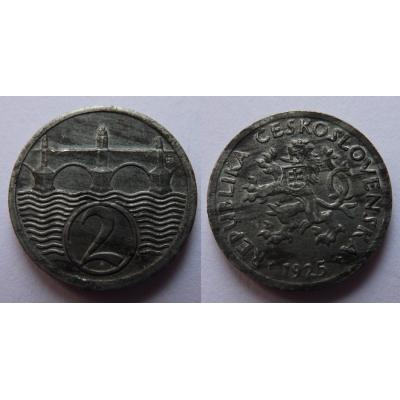 2 haléře 1925
