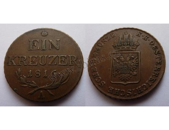 František I. - mince 1 Krejcar 1816