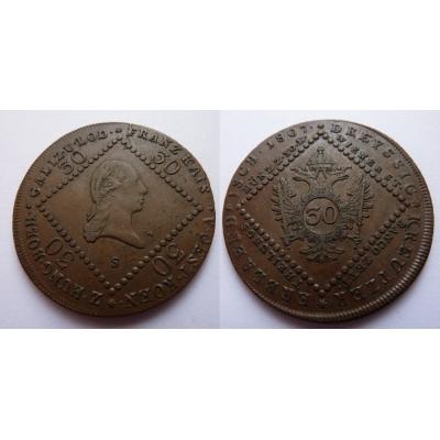 František I. - 30 krejcarů 1807 S