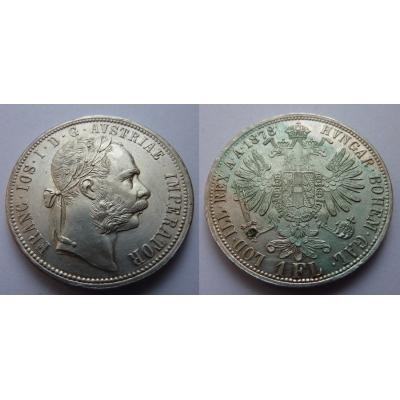 František Josef I. - 1 zlatník 1878