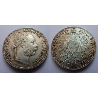 František Josef I. - 1 zlatník 1879