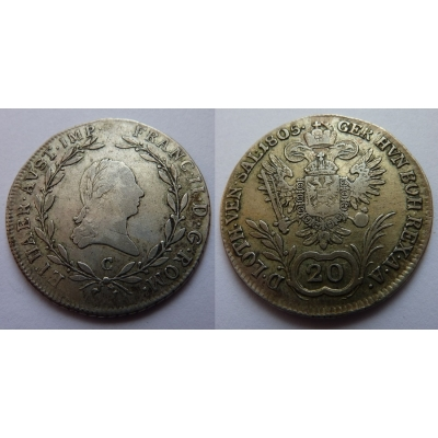 František I. - 20 krejcarů 1805 C