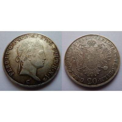 20 krejcarů 1846 C