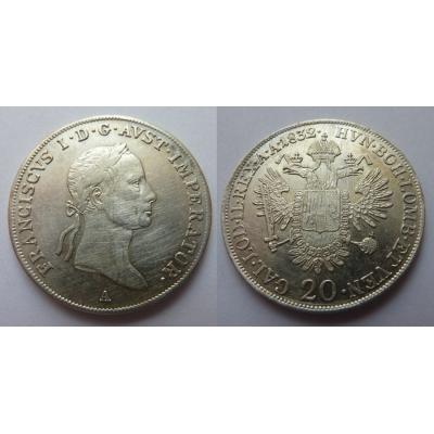 20 krejcar 1832 A