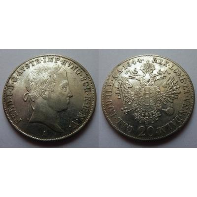 20 Kreuzer 1844