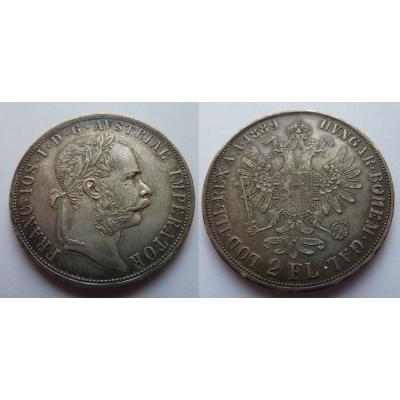 2 florin / zlatník 1889