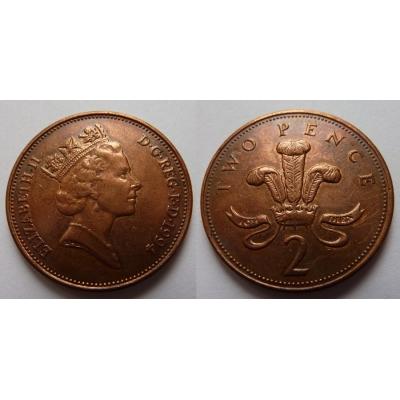 Velká Británie - 2 pence 1994
