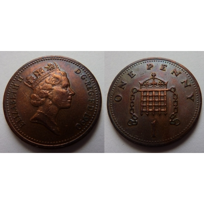 Velká Británie - 1 Penny 1990