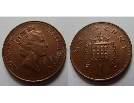 Velká Británie - 1 Penny 1994