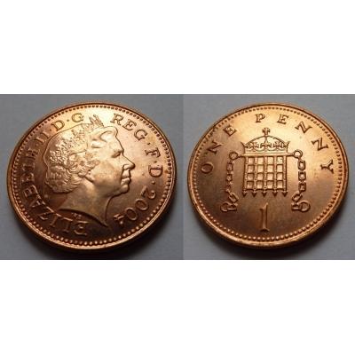 Velká Británie - 1 Penny 2004