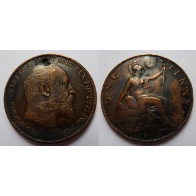 Velká Británie - 1 penny 1903