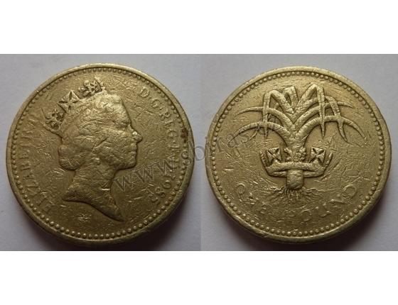 Velká Británie - 1 libra 1985