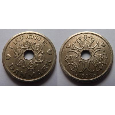 Dánsko - koruna 1992
