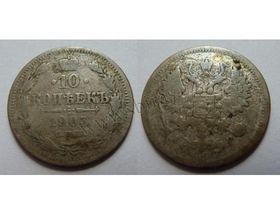 Rusko - 10 kopek 1903