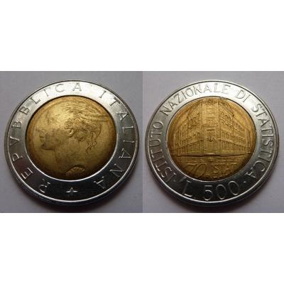 Itálie - 500 lire 1996