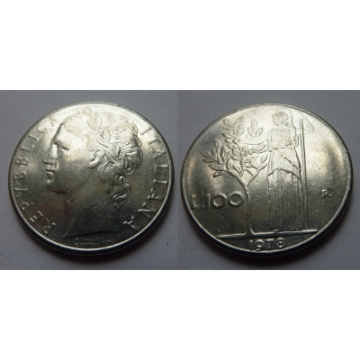 Itálie - 100 lire 1978