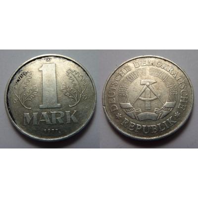 Východní Německo - 1 marka 1977 A