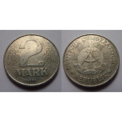 Východní Německo - 2 marky 1978 A