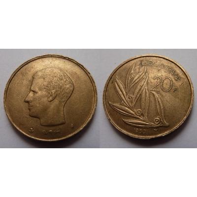 Belgie - 20 frank 1980