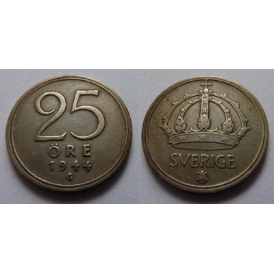 Švédsko - 25 ore 1944 G